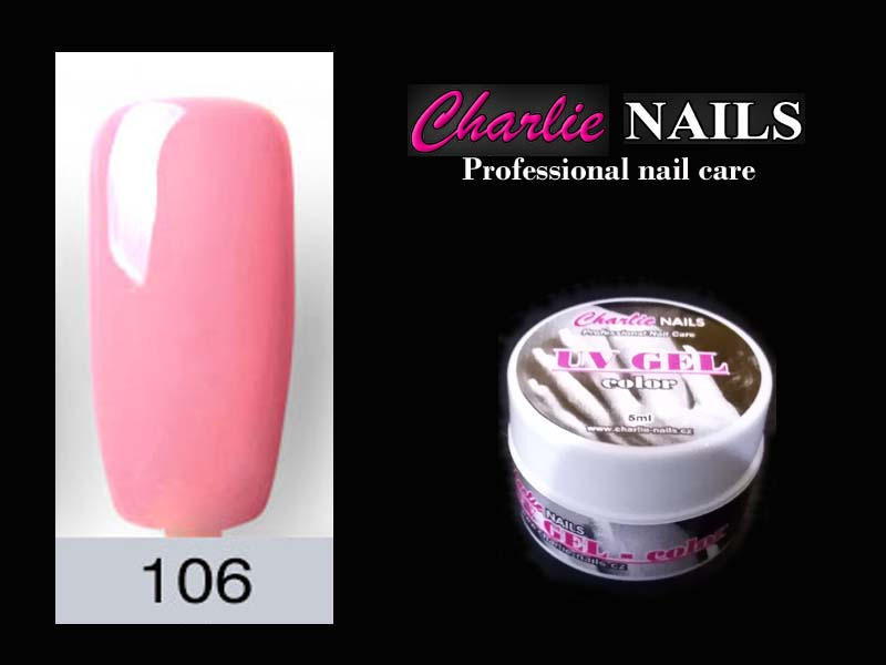 Charlie UV/LED gel flexi č.106 – 5ml.