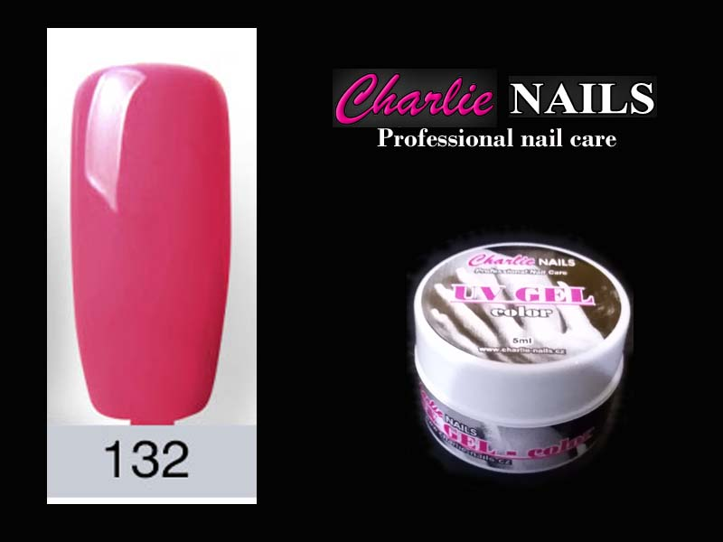 Charlie UV/LED gel flexi č.132 – 5ml.