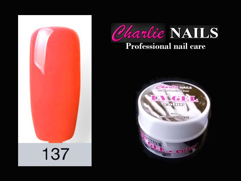 Charlie UV/LED gel flexi č.137 – 5ml.