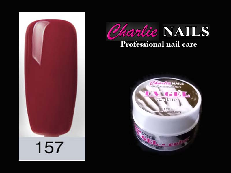 Charlie UV/LED gel flexi č.157 – 5ml.