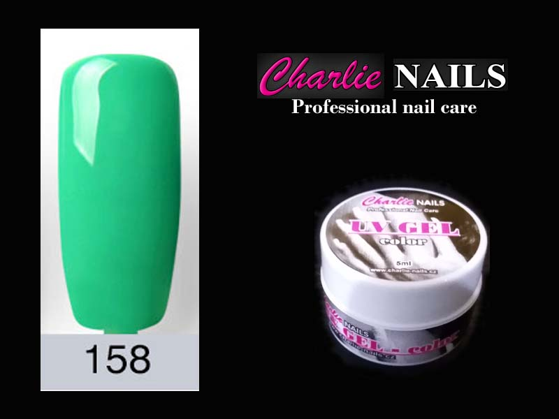 Charlie UV/LED gel flexi č.158 – 5ml.