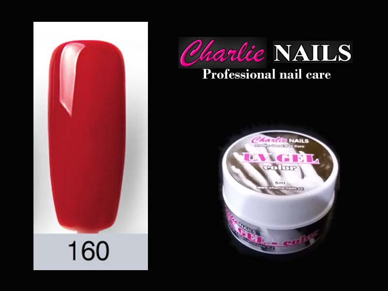Charlie UV/LED gel flexi č.160 – 5ml.