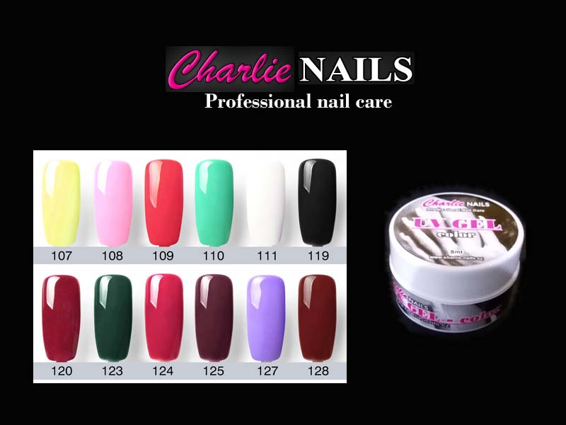 Charlie UV/LED Gel flexi color B-12x 5ml.