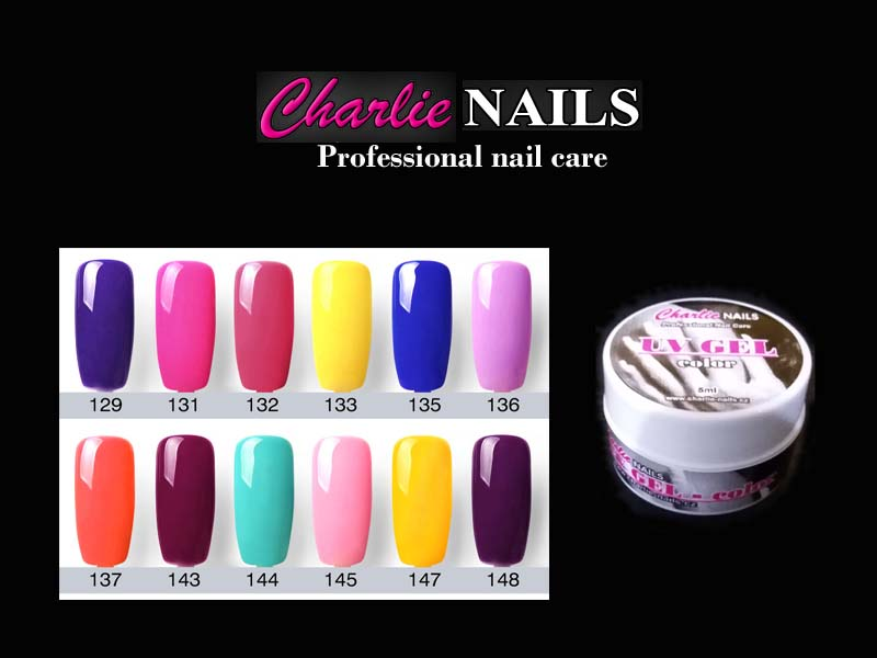 Charlie UV/LED Gel flexi color C-12x 5ml.