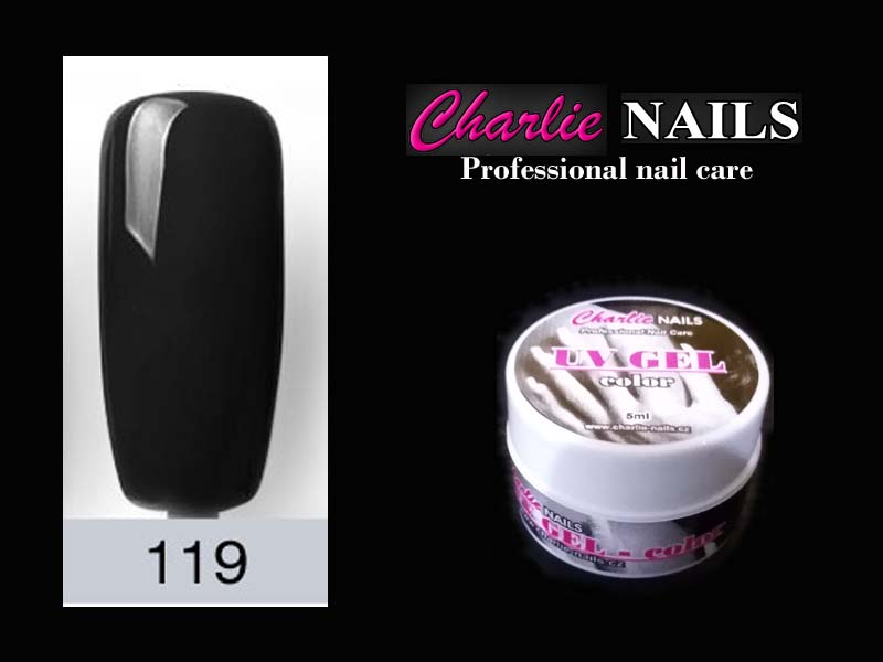 Charlie UV/LED gel flexi č.119 – 5ml.