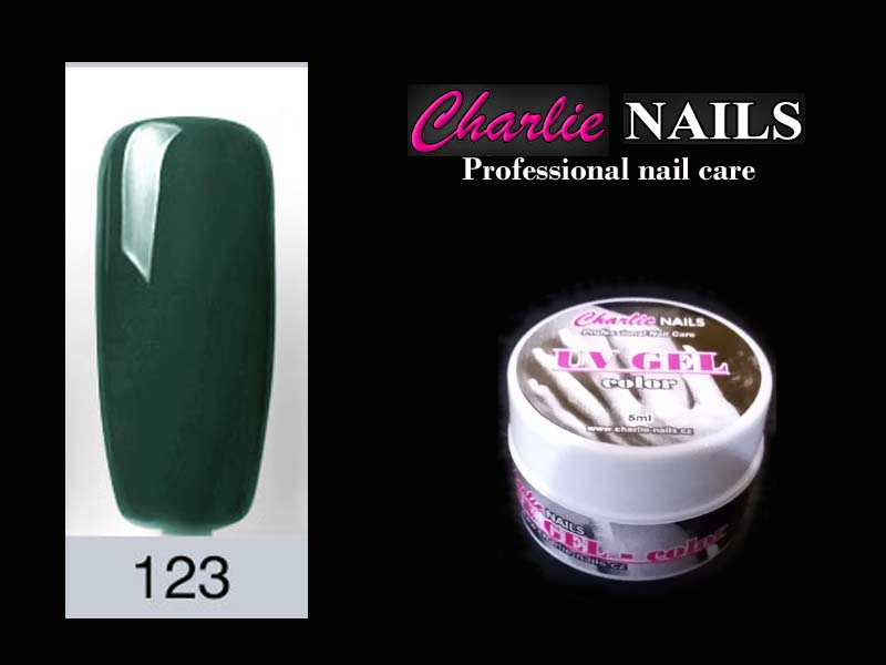 Charlie UV/LED gel flexi č.123 – 5ml.