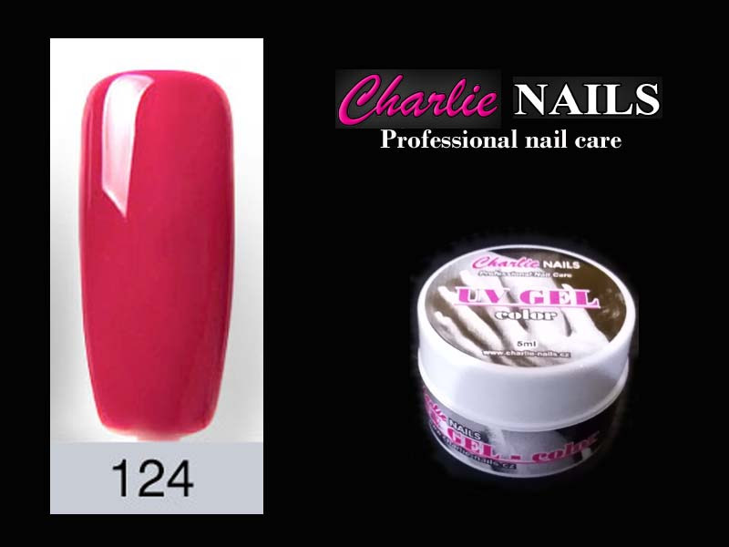 Charlie UV/LED gel flexi č.124 – 5ml.