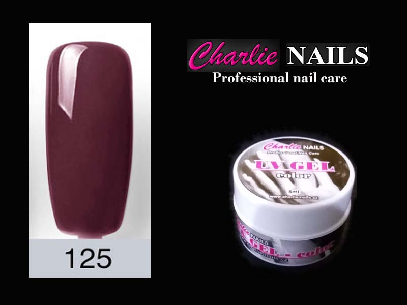 Charlie UV/LED gel flexi č.125 – 5ml.