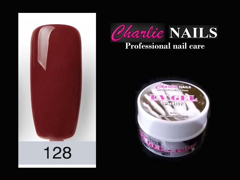 Charlie UV/LED gel flexi č.128 – 5ml.