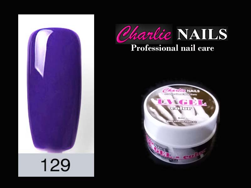 Charlie UV/LED gel flexi č.129 – 5ml.