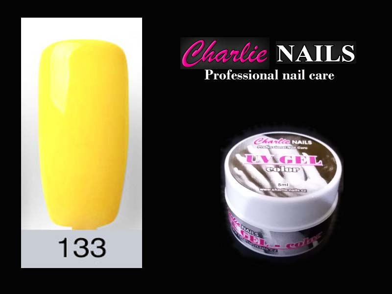 Charlie UV/LED gel flexi č.133 – 5ml.