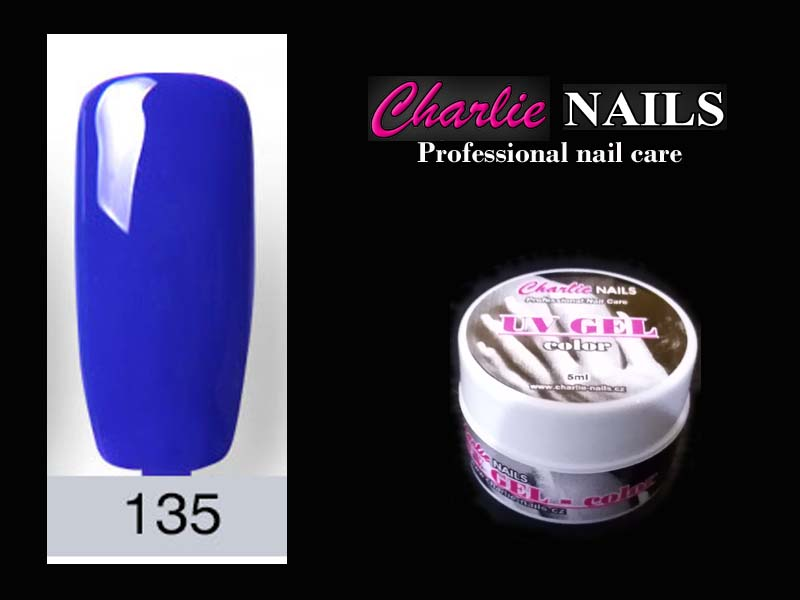 Charlie UV/LED gel flexi č.135 – 5ml.