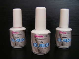 Charlie Gel lak sada na nehty - color 3x 15ml.