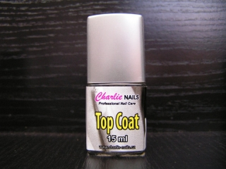 Charlie Vrchní lak - Top coat  15 ml