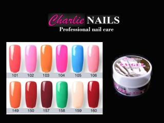 Charlie UV/LED Gel flexi color A-12x 5ml.