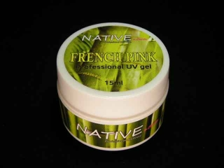 Native UV GEL french růžový 15g